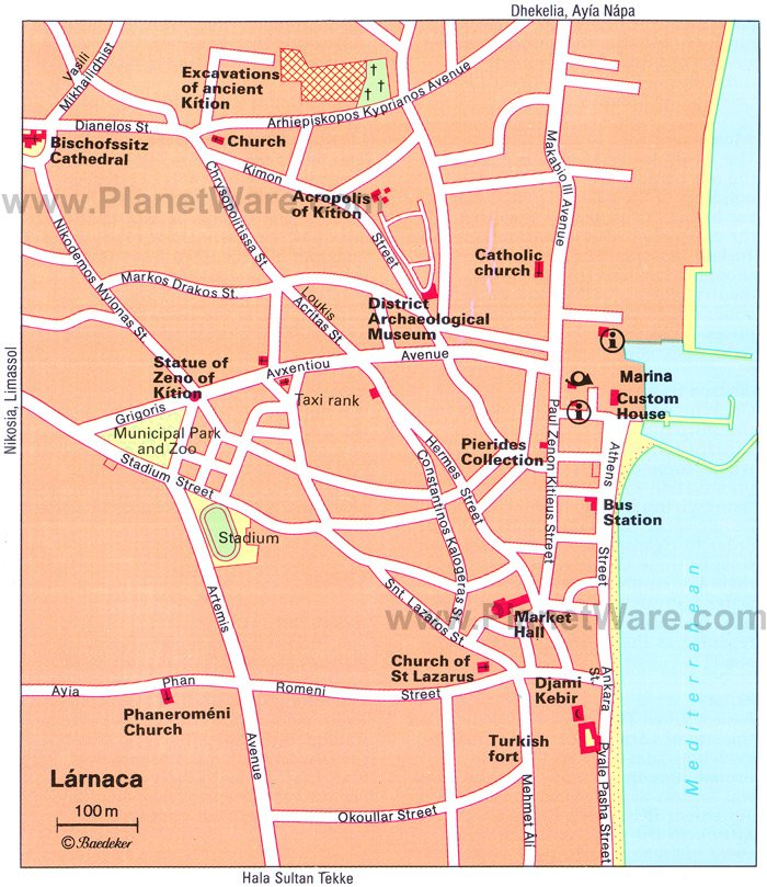 14 TopRated Tourist Attractions in Larnaca – Fort Worth Tourist Attractions Map