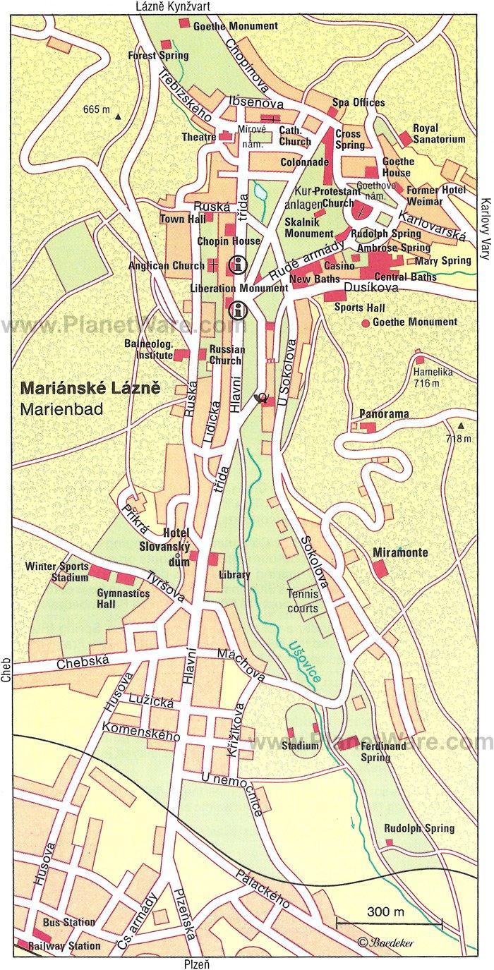 karlovy vary map tourist - photo #4