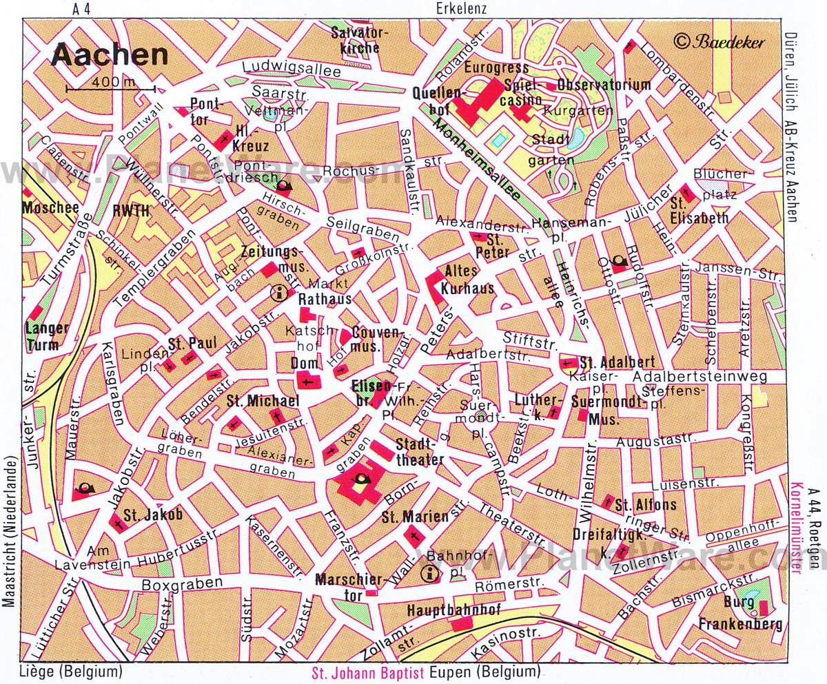 8 TopRated Tourist Attractions in Aachen PlanetWare
