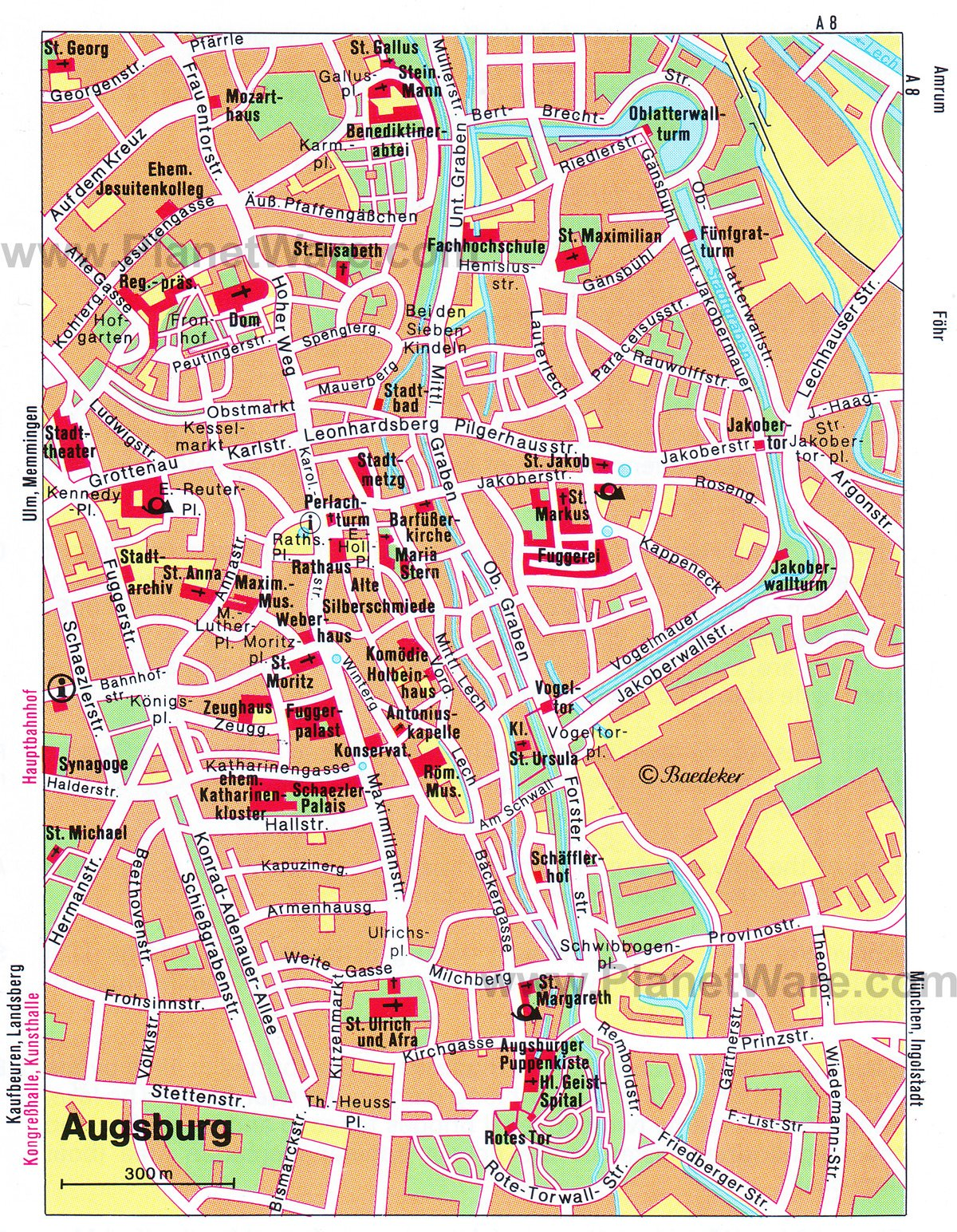 10 TopRated Tourist Attractions in Augsburg – Nuremberg Tourist Map