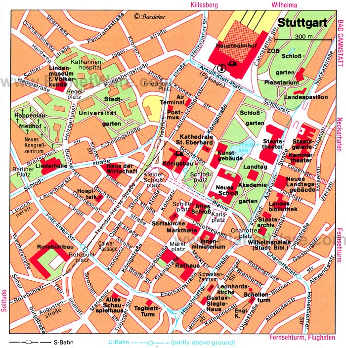 16 TopRated Tourist Attractions in Stuttgart – Germany Tourist Attractions Map