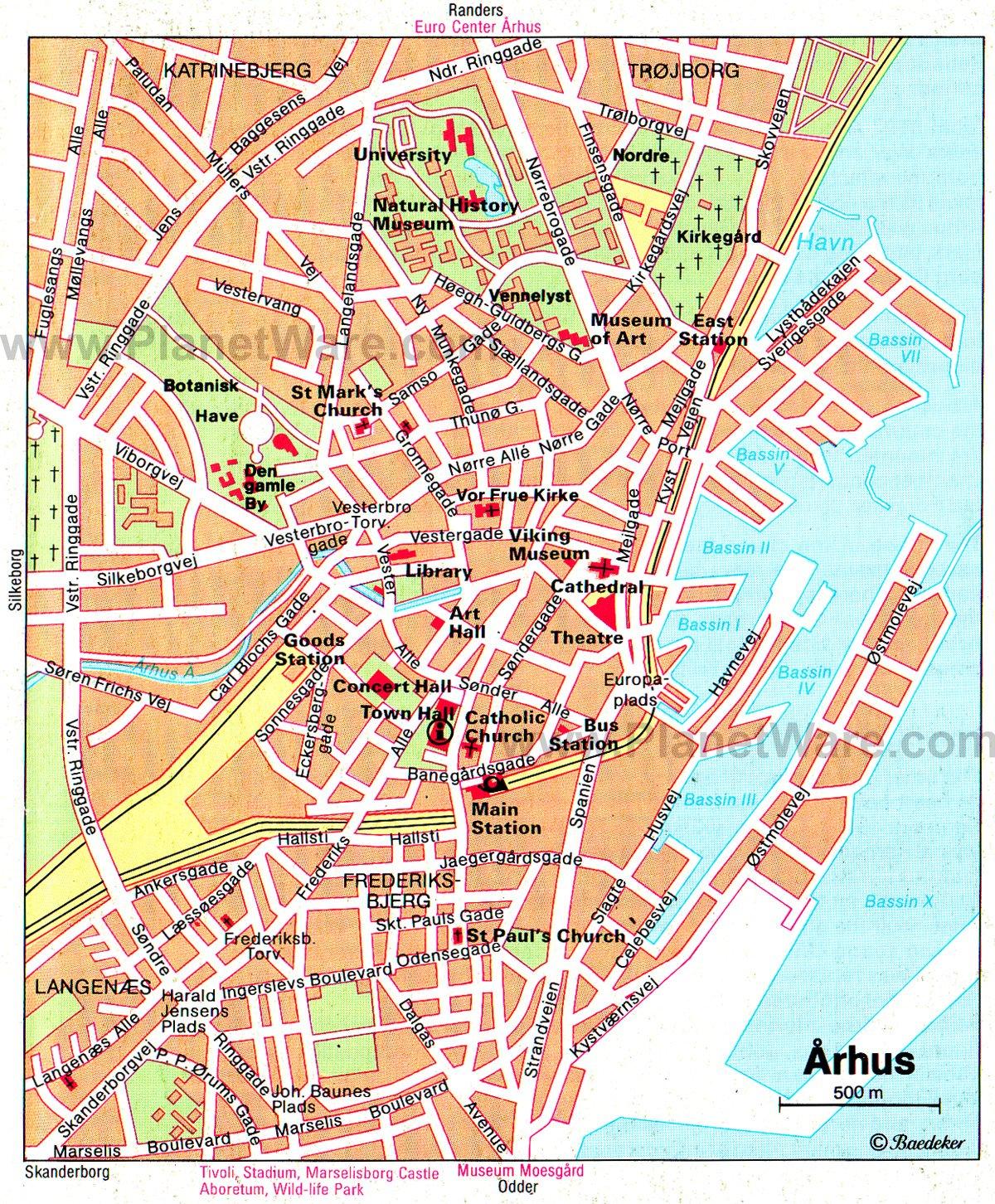 10 Top Tourist Attractions in Aarhus and Easy Day Trips – Copenhagen Tourist Map