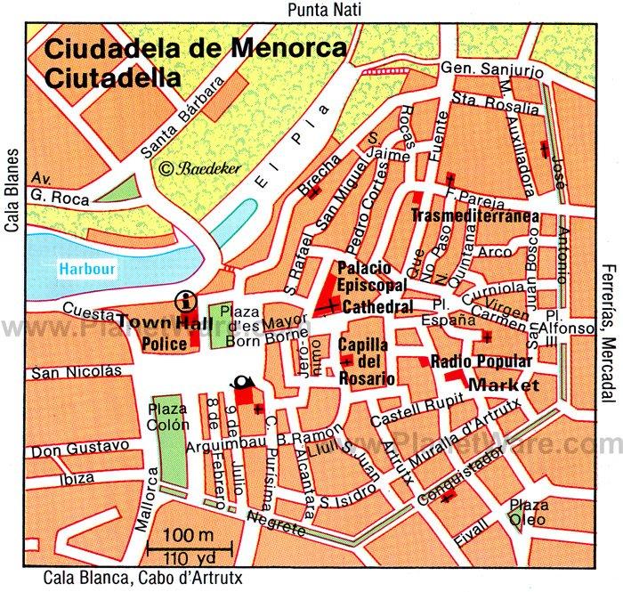 Ciutadella De Menorca Spain Cruise Port Of Call