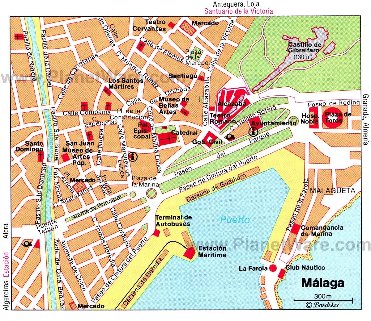 Malaga Spain Cruise Port Of Call