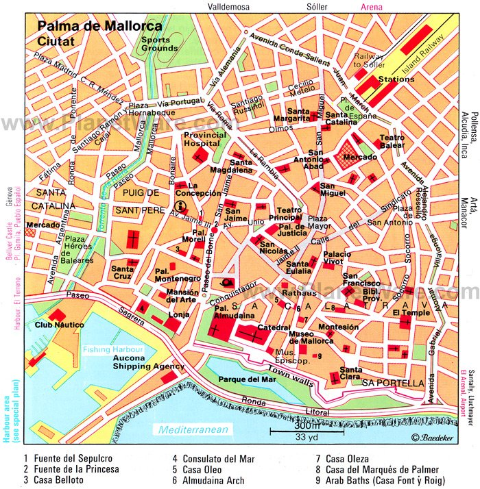 12 TopRated Tourist Attractions in Majorca Mallorca – Madrid Spain Tourist Attractions Map