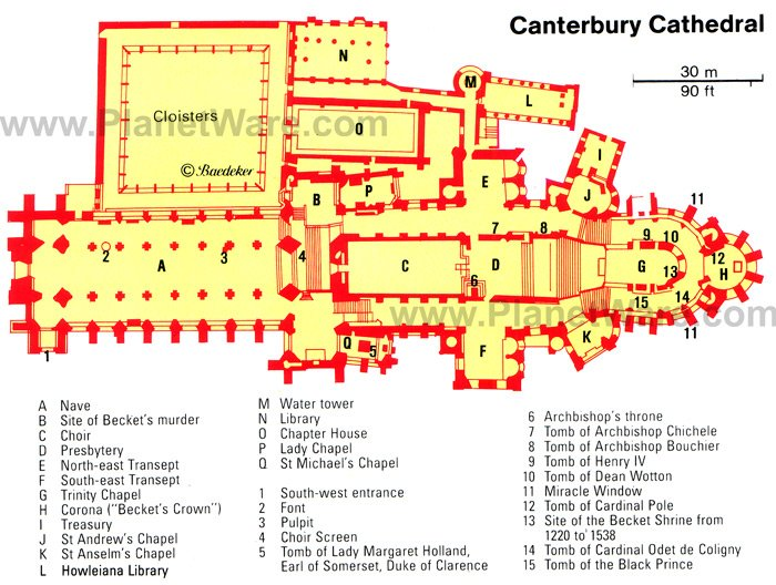 Murder and majesty top 10 highlights of canterbury Canterbury floor plan