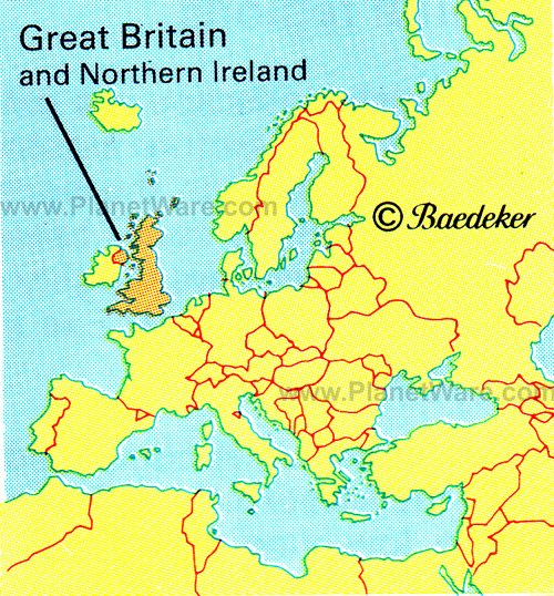 Map of Great Britain, ...