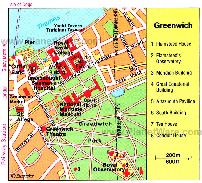 18 TopRated Tourist Attractions in Londons Greenwich and – England Travel Map