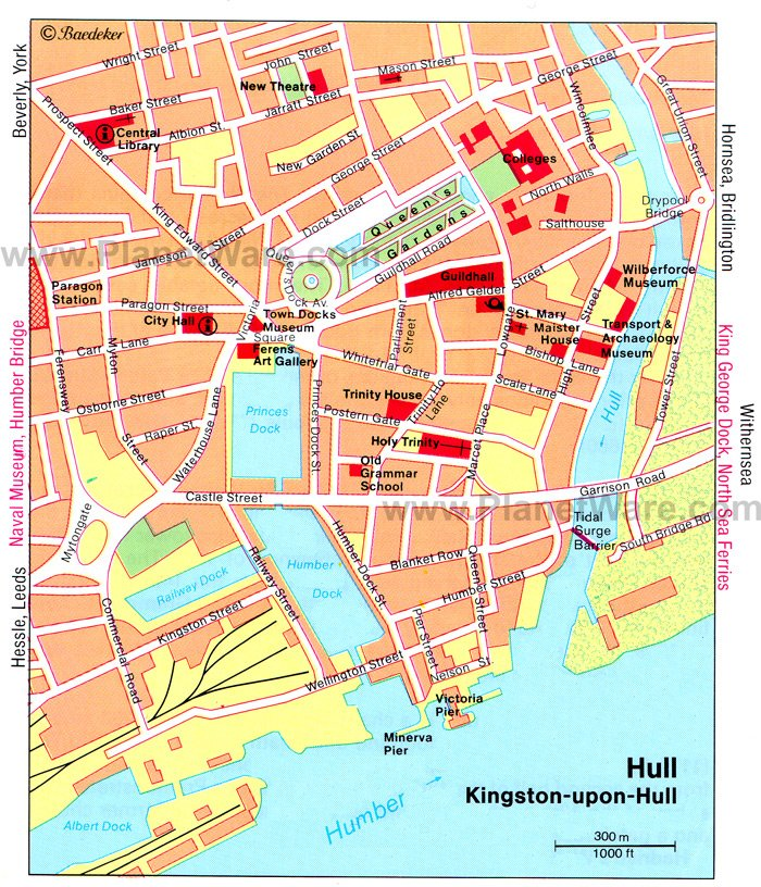 12 TopRated Tourist Attractions in Hull – England Tourist Attractions Map