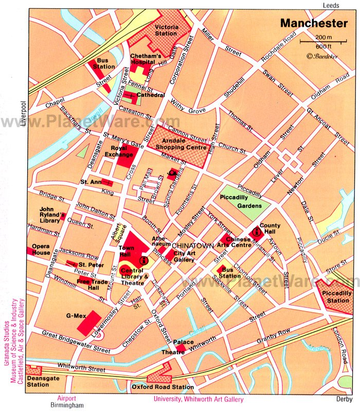 12 TopRated Tourist Attractions in Manchester – Tourist Attractions In London Map
