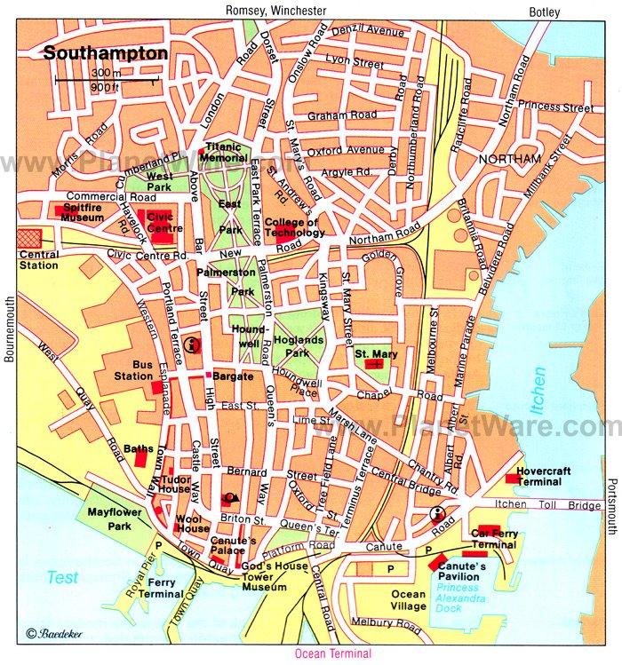 Southampton England Map 10 Top Rated Tourist Attractions in Southampton | PlanetWare