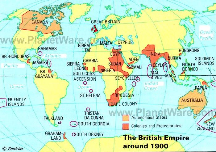 Maps World Map 1900
