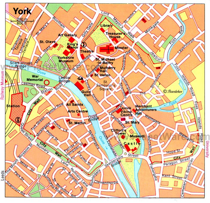 16 TopRated Tourist Attractions in York England – Printable Tourist Map Of London Attractions