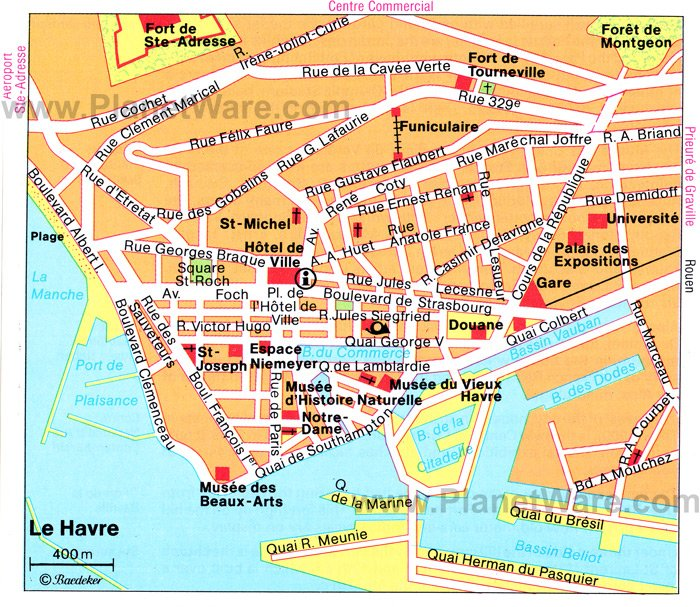Map Of France Le Havre.22 Top Rated Attractions Places To Visit In Normandy Planetware