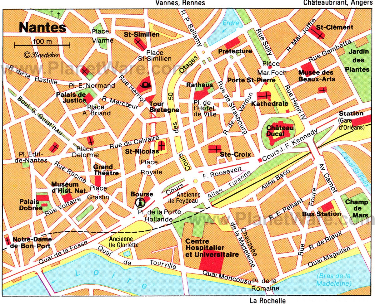 14 TopRated Tourist Attractions in Brittany – Map of Tourist Attractions in Paris