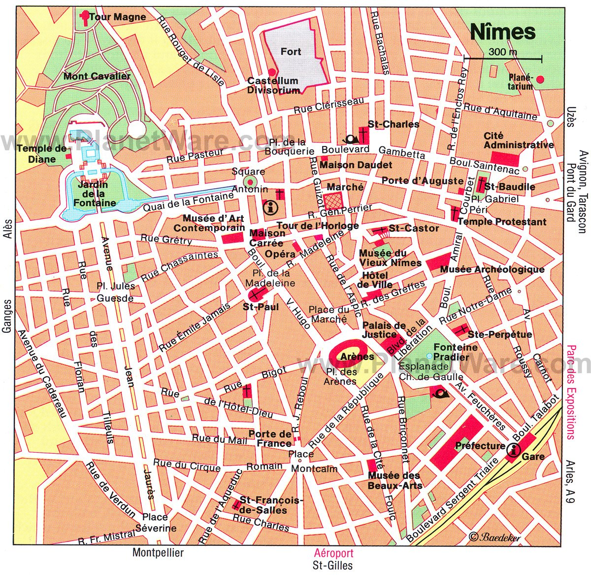 10 TopRated Tourist Attractions in Nimes – Paris France Tourist Attractions Map