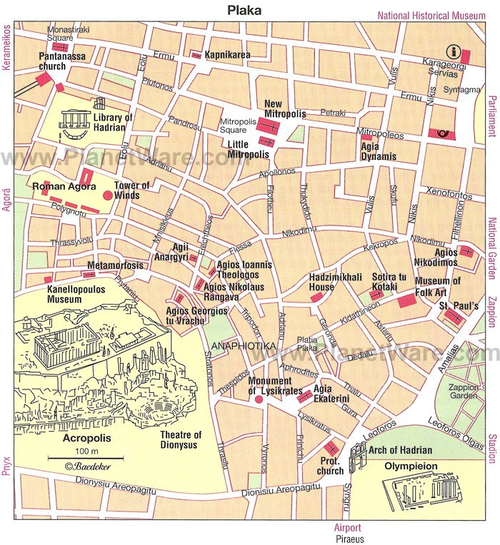 12 TopRated Attractions and Things to Do in Athens – Map Of Rome Showing Tourist Attractions