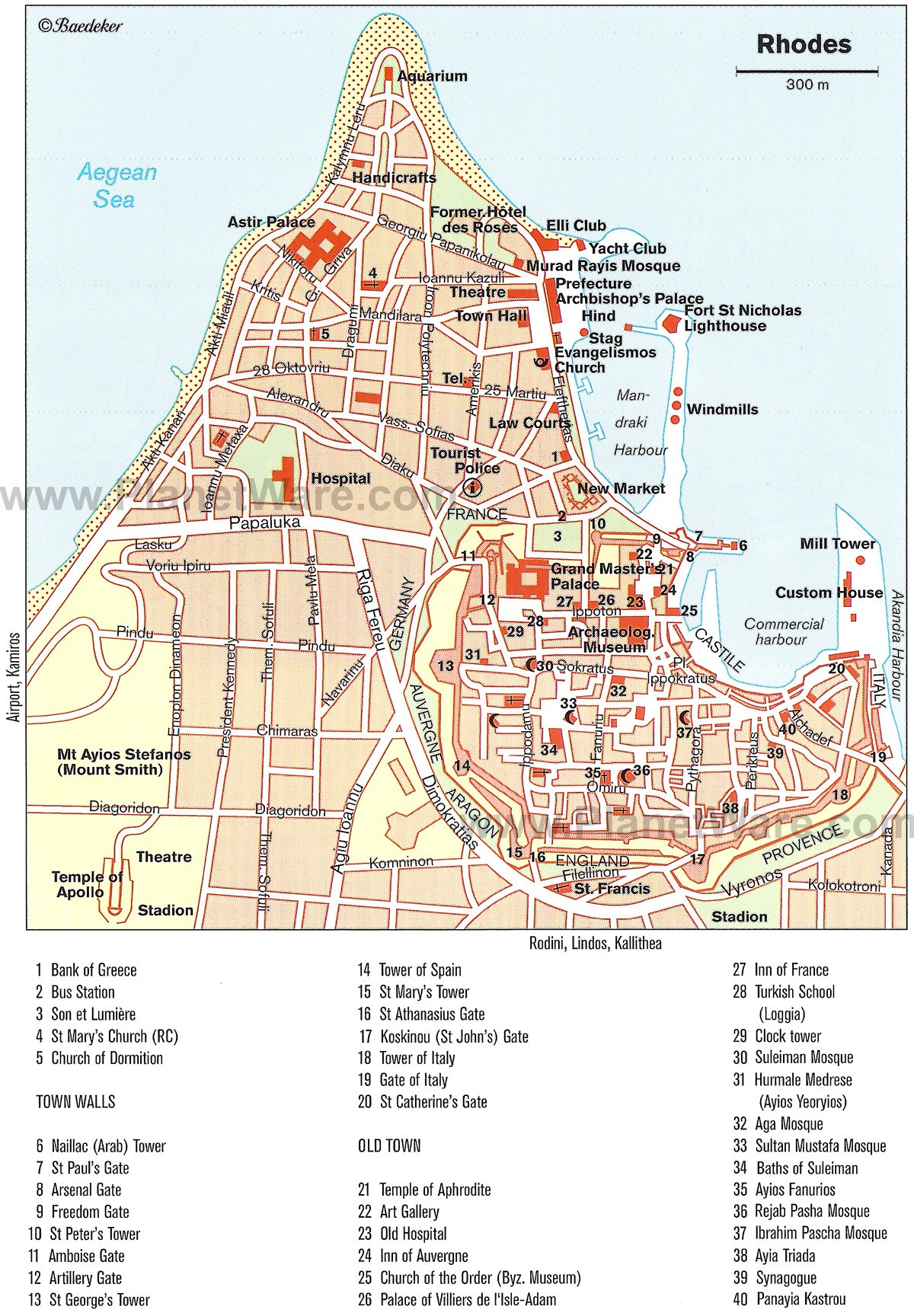 15 TopRated Greek Islands – Rhode Island Tourist Attractions Map