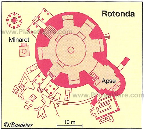 Salonica - Rotunda - Floor plan map