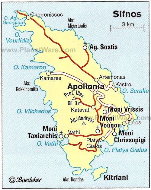Map Of Greece Hellenic Republic Planetware
