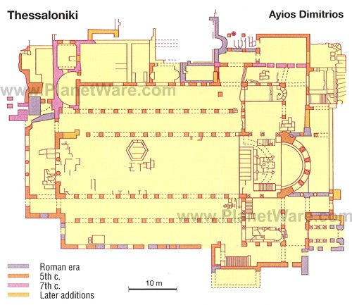 Ayios Dimitrios - Floor plan map