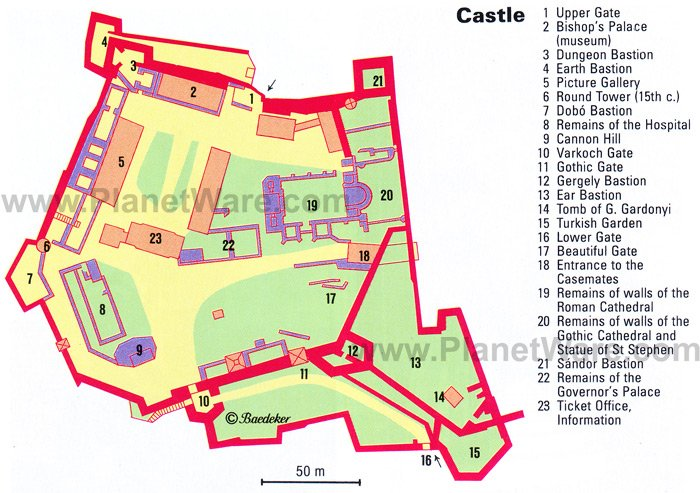 Castle - Floor plan map