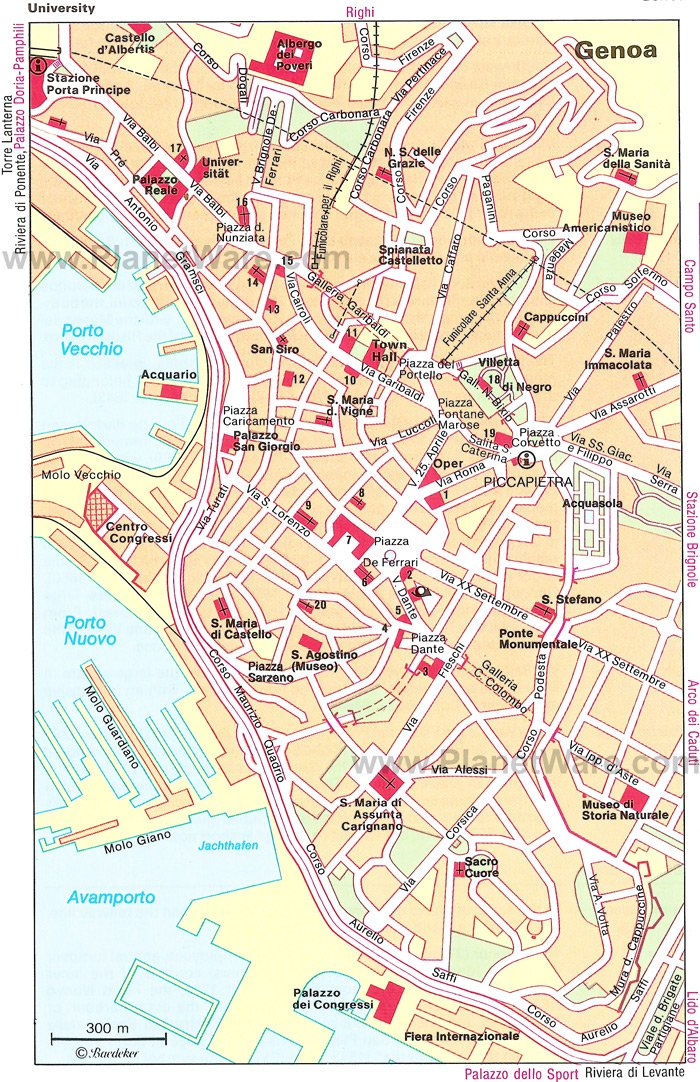 Map Of Italy Showing Pisa.14 Top Rated Tourist Attractions In Genoa Easy Day Trips Planetware