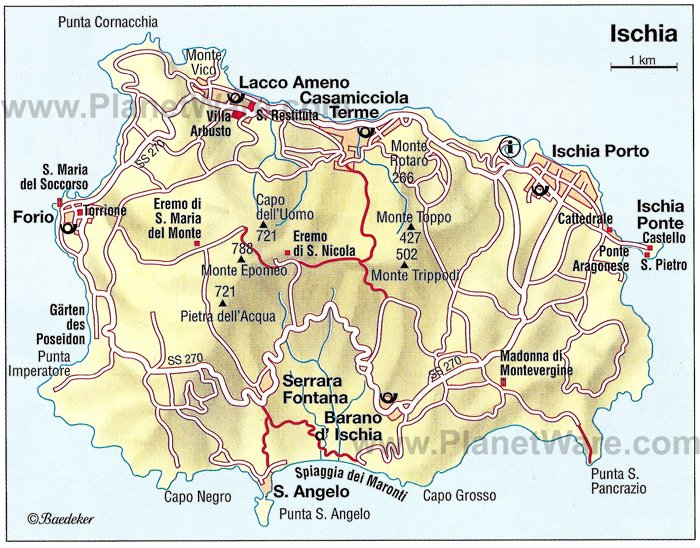 12 Top Tourist Attractions in Naples and Easy Day Trips – Northern Italy Map Tourist