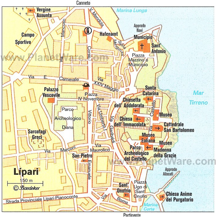 Lipari Liparian Islands Italy Cruise Port of Call