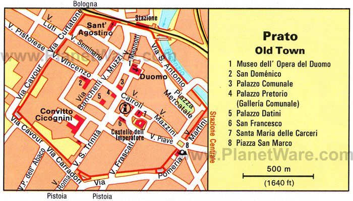 10 TopRated Day Trips from Florence – Tourist Map Of Florence Italy