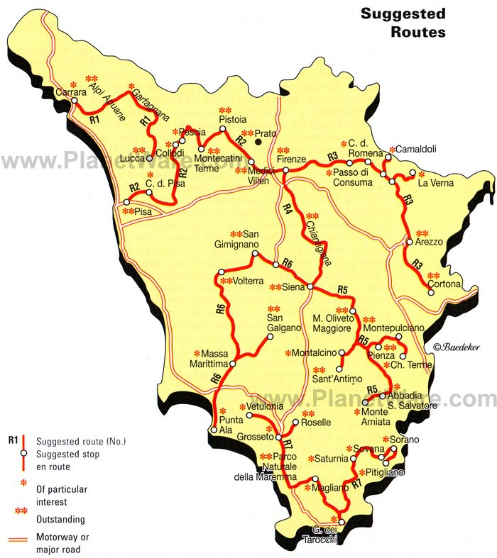 Tuscany Italy Map Of Area.12 Top Rated Tourist Attractions In Tuscany Planetware