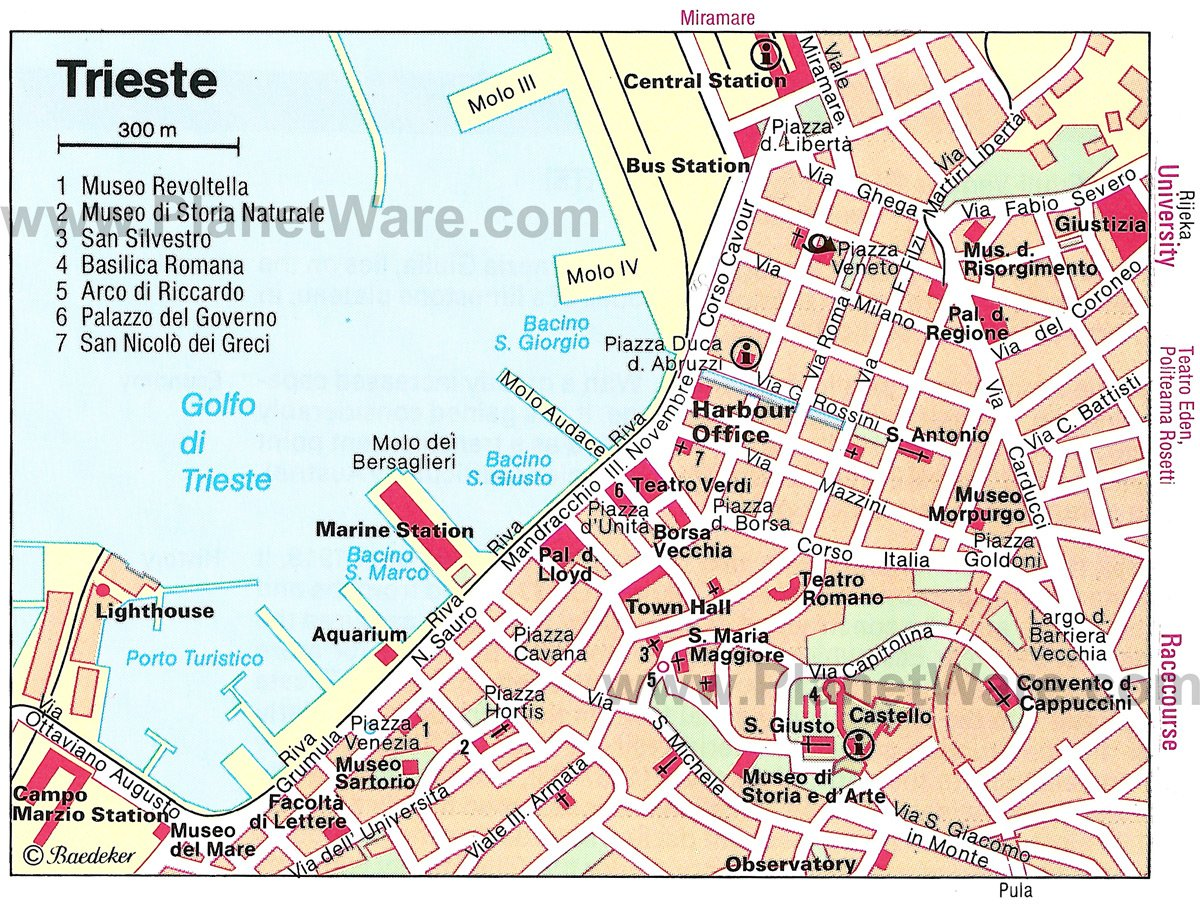 rione ponziana trieste italy map - photo#25