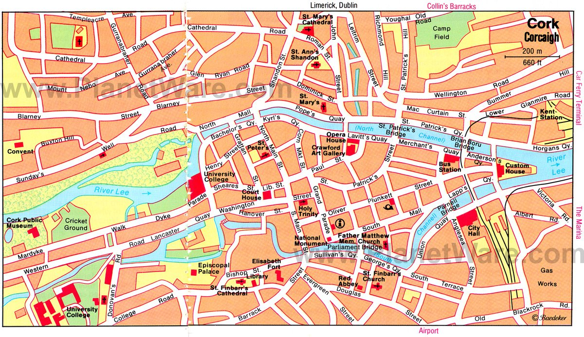 12 TopRated Tourist Attractions in Cork – Map Of Ireland With Tourist Attractions