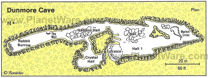 Dunmore Cave - Map