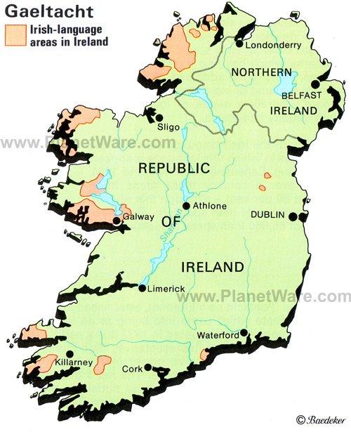 Hur Manga Talar Iriska I Irland Och Var