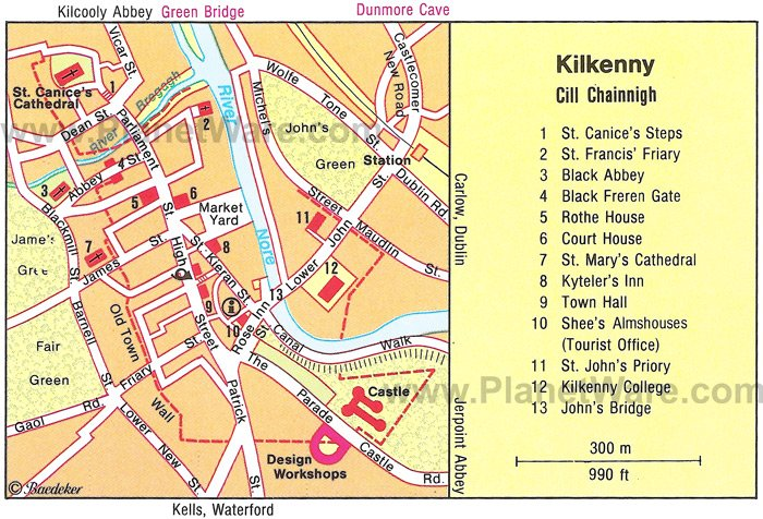 8 TopRated Tourist Attractions in Kilkenny Ireland – Map Of Ireland With Tourist Attractions