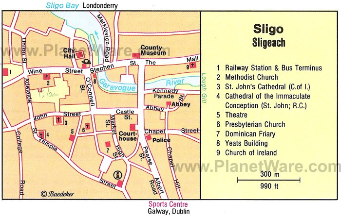 8 TopRated Tourist Attractions in Sligo – Ireland Tourist Attractions Map