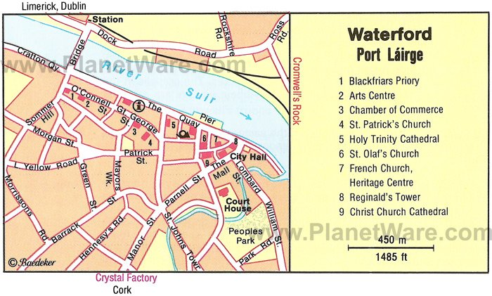 8 TopRated Tourist Attractions in Waterford – Map Of Ireland With Tourist Attractions