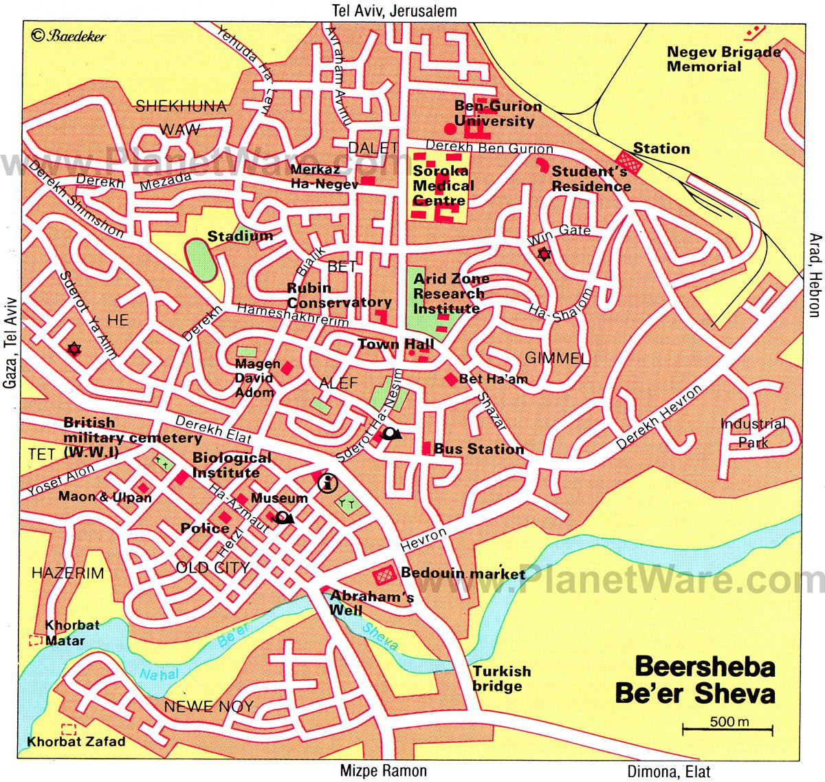 10 TopRated Tourist Attractions in the Negev Region – Tourist Map Of Tel Aviv