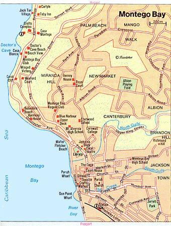 Montego Bay Jamaica Cruise Port of Call