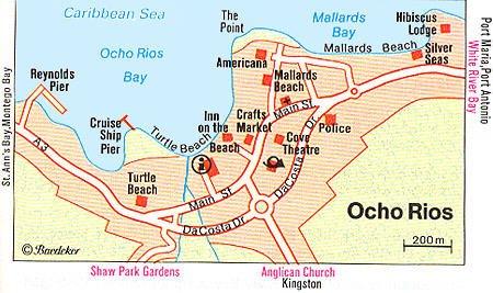 Ocho Rios Jamaica Cruise Port of Call