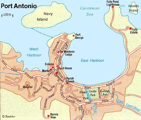 Port Antonio Jamaica Cruise Port Of Call