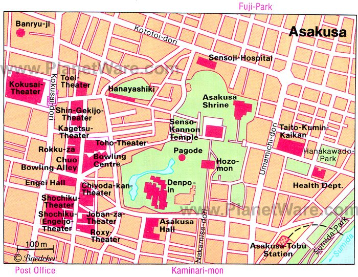 12 TopRated Tourist Attractions in Tokyo – Tokyo Tourist Map