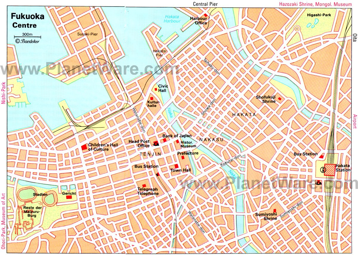 10 TopRated Tourist Attractions in Fukuoka – Kyoto Tourist Attractions Map