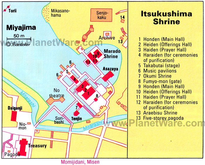 10 TopRated Tourist Attractions in Hiroshima – Kyoto Tourist Attractions Map