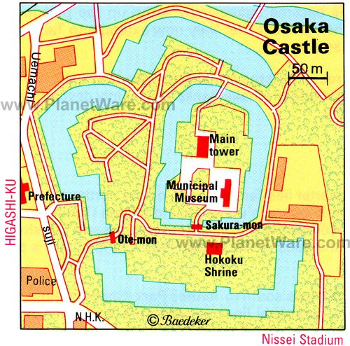 10 top rated tourist attractions in osaka planetware for Top rated floor plans
