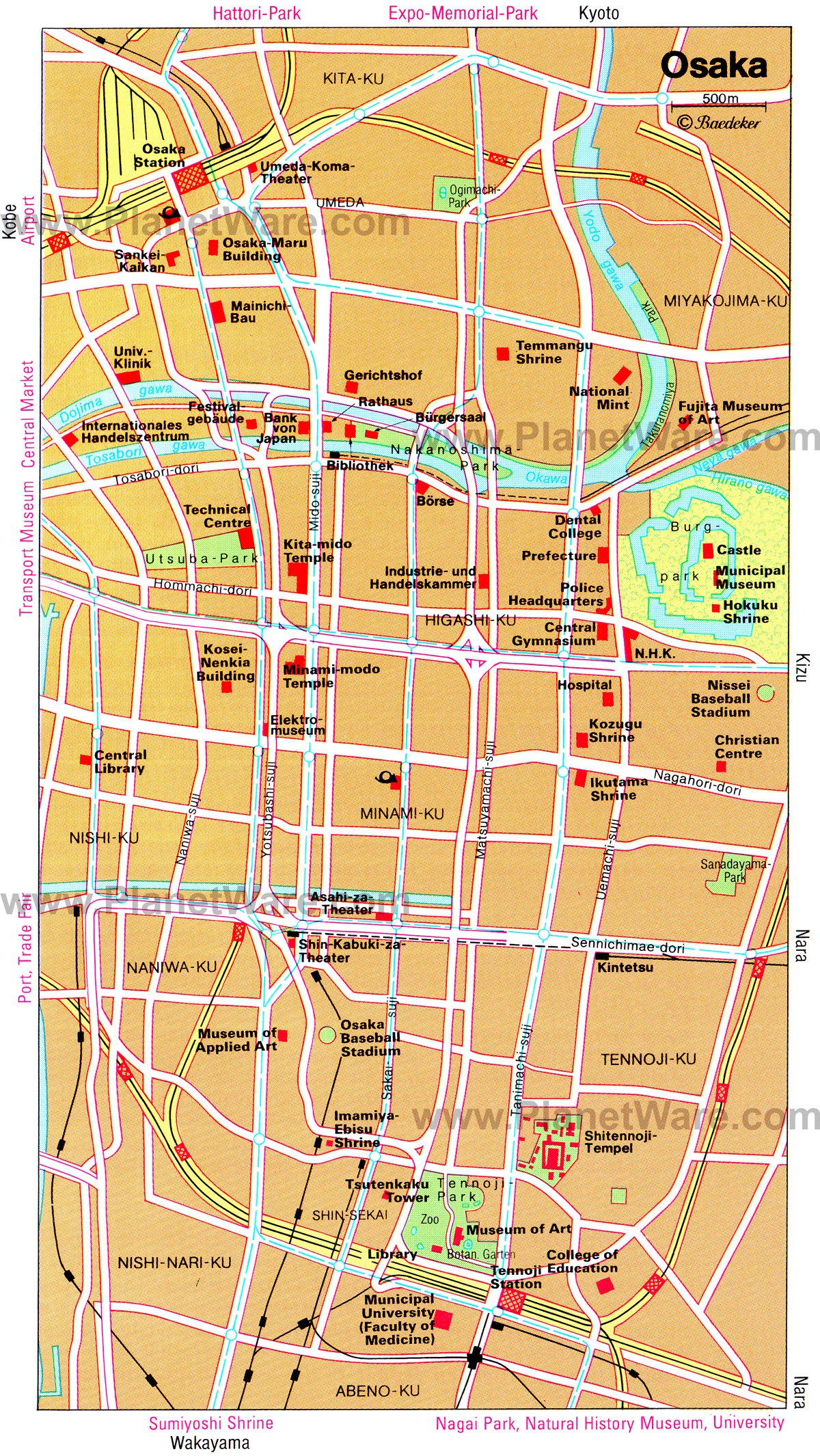 10 TopRated Tourist Attractions in Osaka – Shanghai Tourist Attractions Map