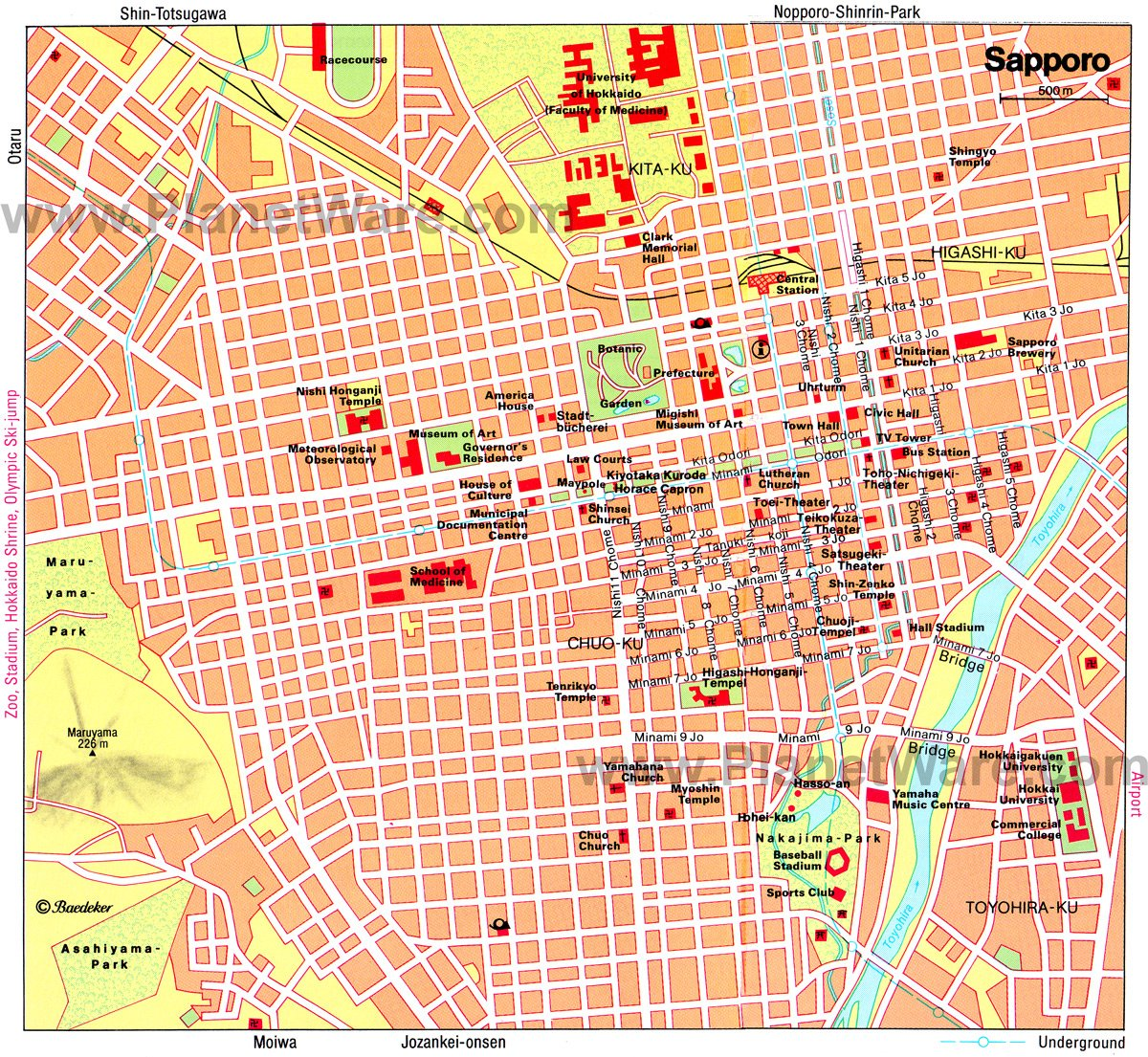 10 TopRated Tourist Attractions in Sapporo – Kyoto Tourist Attractions Map