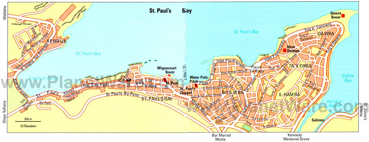 Malta Travel Guide – Map Of Pauls Travels