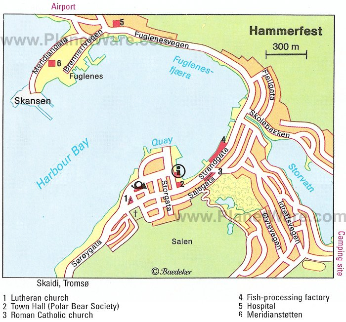 Hammerfest Norway Cruise Port Of Call